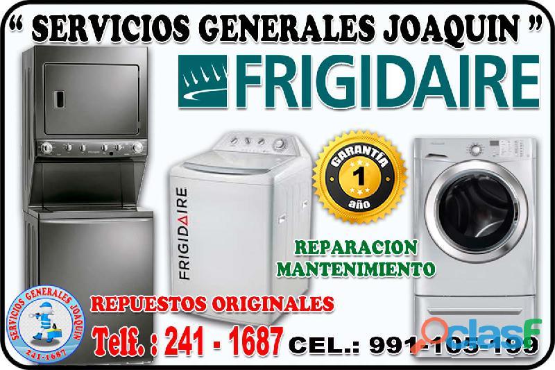 Mantenimiento * FRIGIDAIRE * lavasecas, centro de lavado,