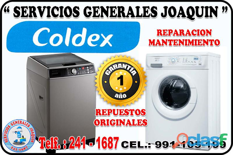 Servicio técnico ** COLDEX ** lavadoras,refrigeradoras