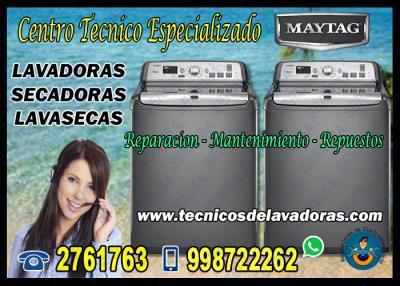 En San Isidro> Reparación de LAVADORAS MAYTAG 7378107
