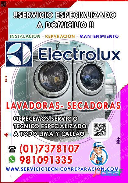 Reparación de LAVADORAS| Electrolux ♦ 7378107 en Pueblo