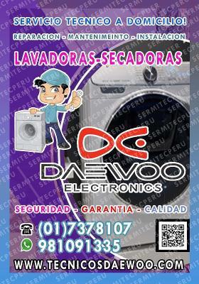 SOLUCIÓNES!! Técnicos LAVADORAS DAEWOO > Puente Piedra