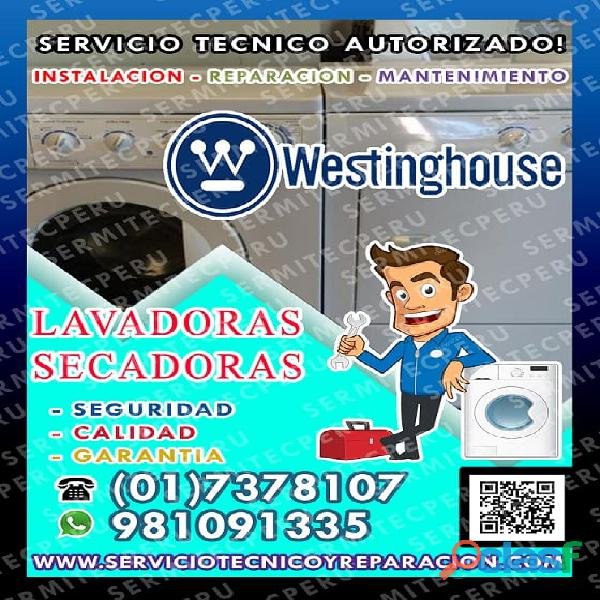 San Gabriel ●Profesionales de lavadoras Westinghouse ☎
