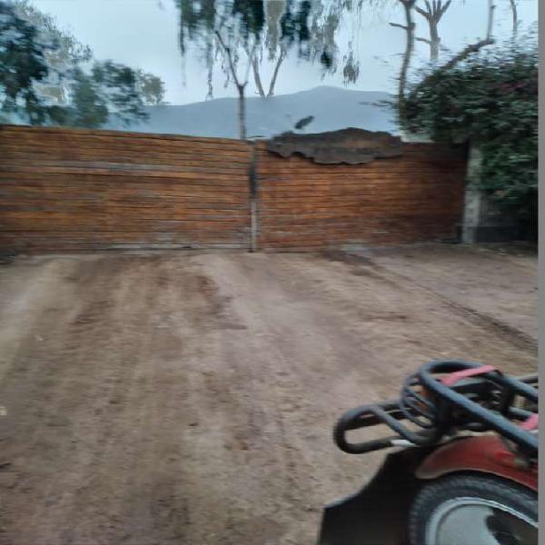 Terreno 5000mts. en condomino pachacamac en Lima