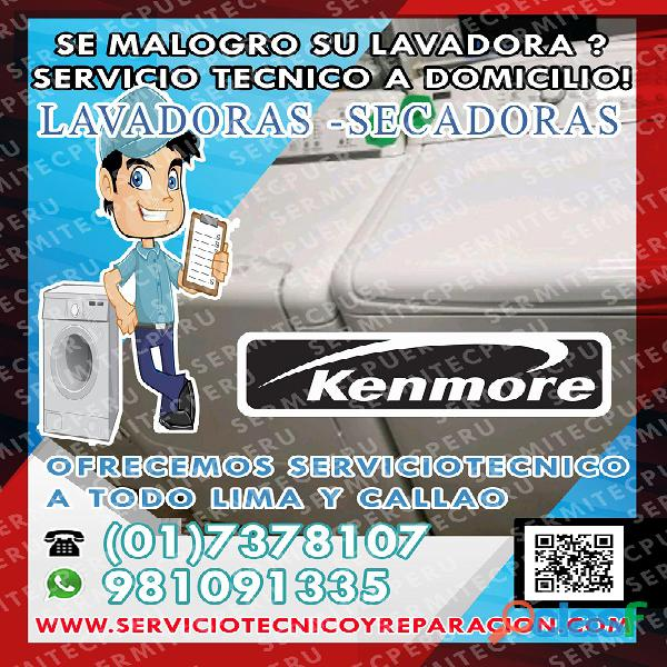 Operativos!! 7378107 *TECNICOS DE LAVADORAS KENMORE>> San