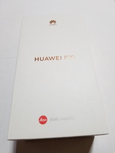 Huawei P20 Negro Leica 128gb Nuevo En Caja Con Accesorios