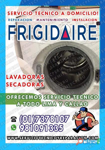 ¡A toda Hora!! Técnicos de LAVADORAS FRIGIDAIRE>> San