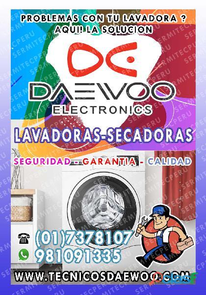 Barranco| Servicio Técnico de Lavadoras DAEWOO a Domicilio