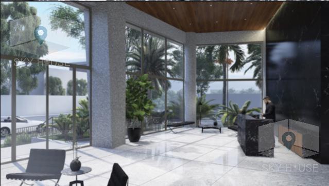 Pre venta flat 1 dormitorio, zona Golf 70 m2