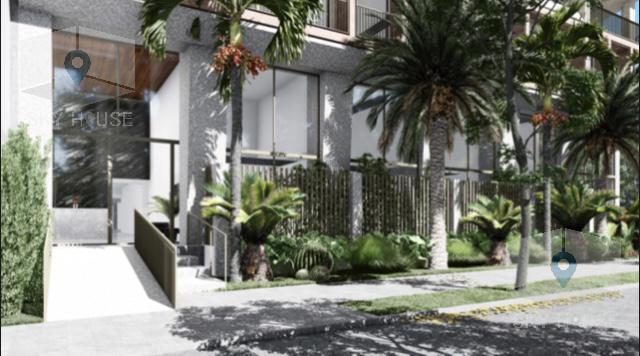Pre venta flat 2 dormitorios, zona Golf 80 m2