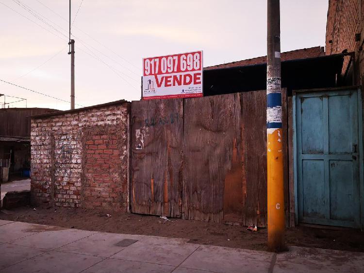 SE VENDE TERRENO ESQUINA- VILLA EL SALVADOR