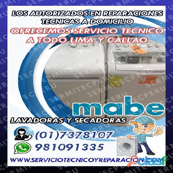 En La Victoria● PROFESIONALES DE LAVADORAS MABE☎7378107