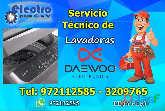 Servicio con prontitud, servicio técnico de lavadoras