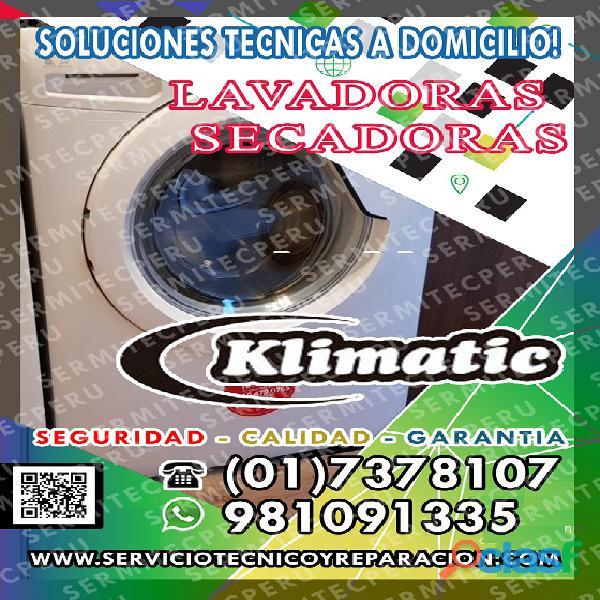 Al Tok3· Servicio técnico LAVADORAS [KLIMATIC] En