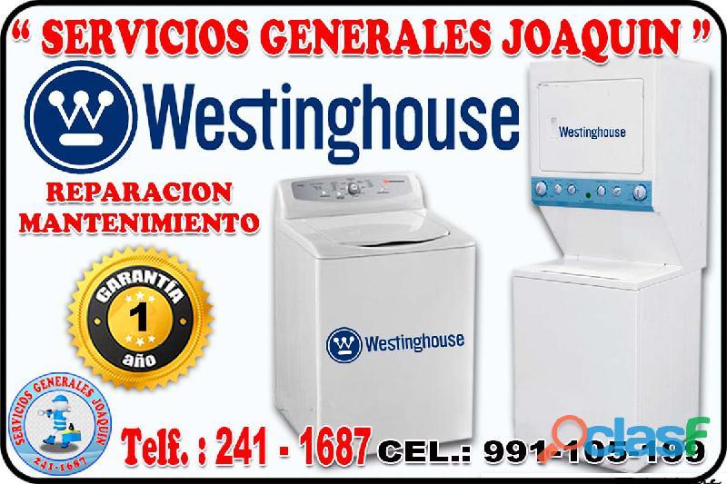 Mantenimiento * WESTINGHOUSE * lavasecas, lavadoras 991 105