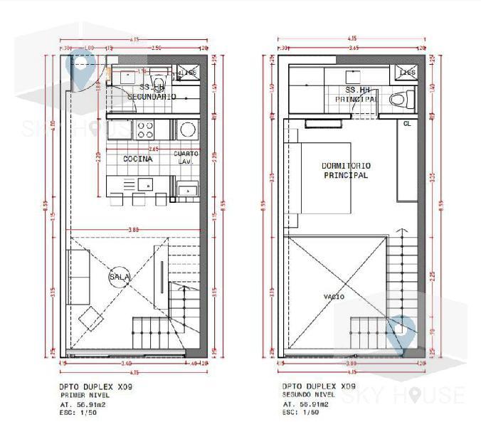 Pre venta duplex 1 dormitorio, zona Golf 77m2