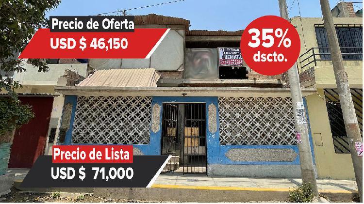 ENTIDAD FINANCIERA REMATA Casa en Puente Piedra - 00901