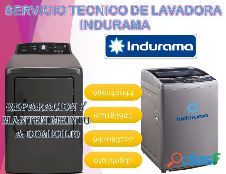 servicio tecnico de centros de lavado indurama 986242044