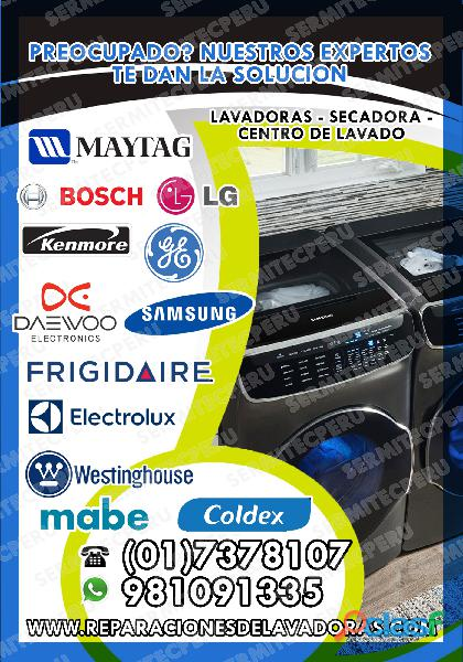 Reparación Lavadoras.Secadoras MABE 017378107